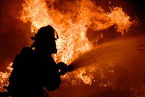 Пожар в СНТ…