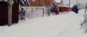 Сезон уборки снега открыт!